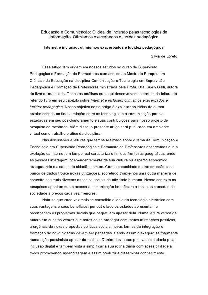 Educação e comunicação versão final 31 10-2011