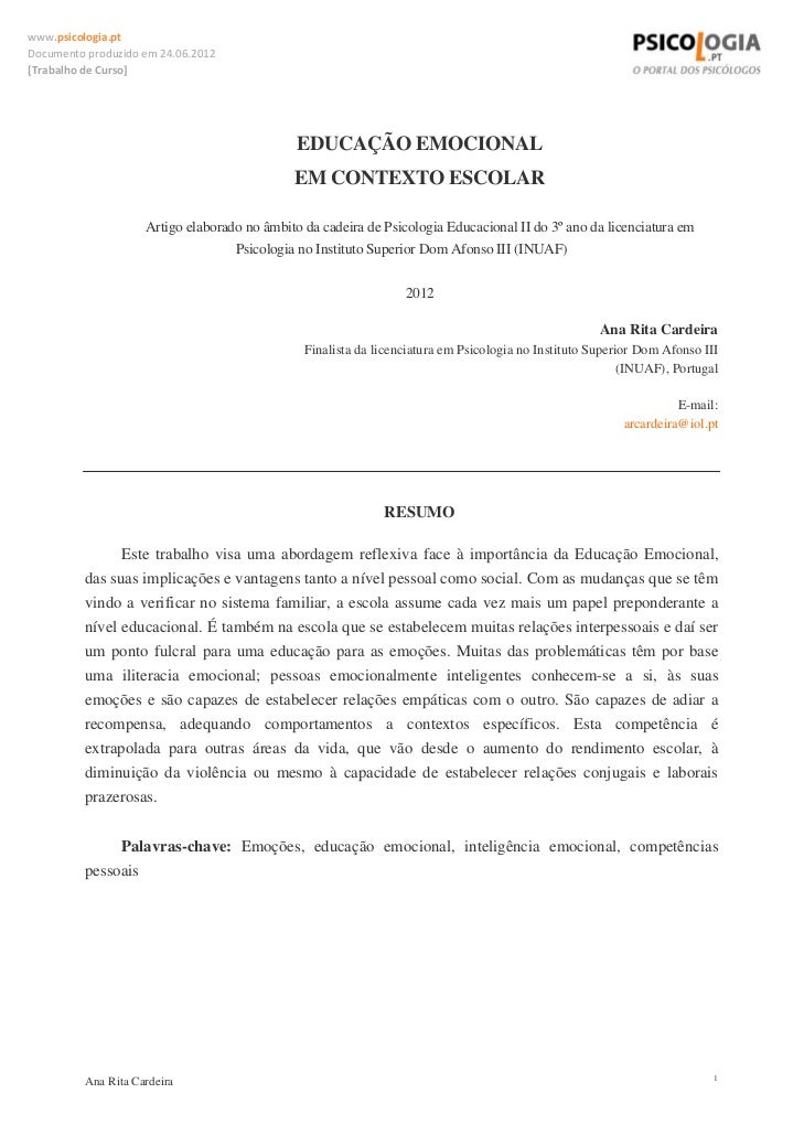 www.psicologia.ptDocumentoproduzidoem24.06.2012[TrabalhodeCurso]                                               EDU...