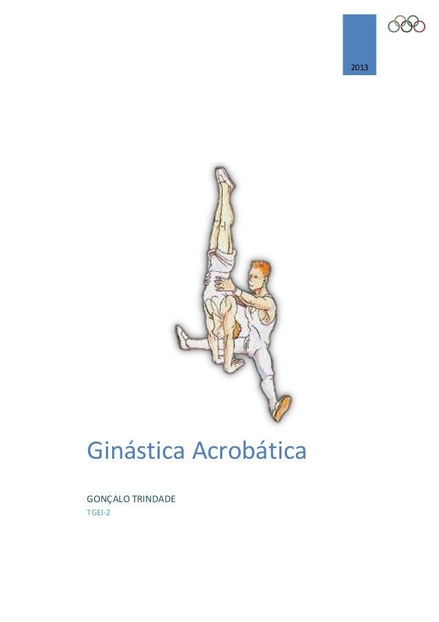 2013 Ginástica Acrobática GONÇALO TRINDADE TGEI-2