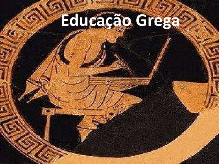 Educação Grega