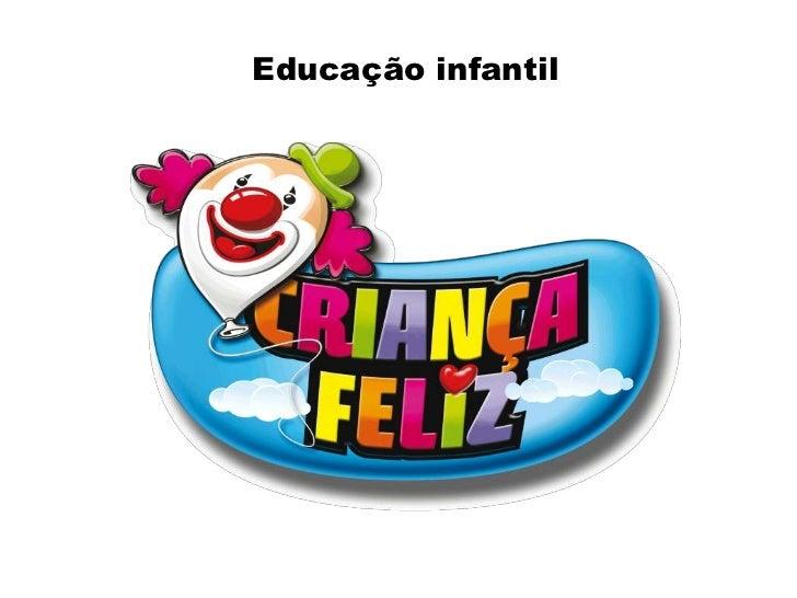 Educação infantil<br />