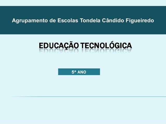 Agrupamento de Escolas Tondela Cândido Figueiredo  5º ANO