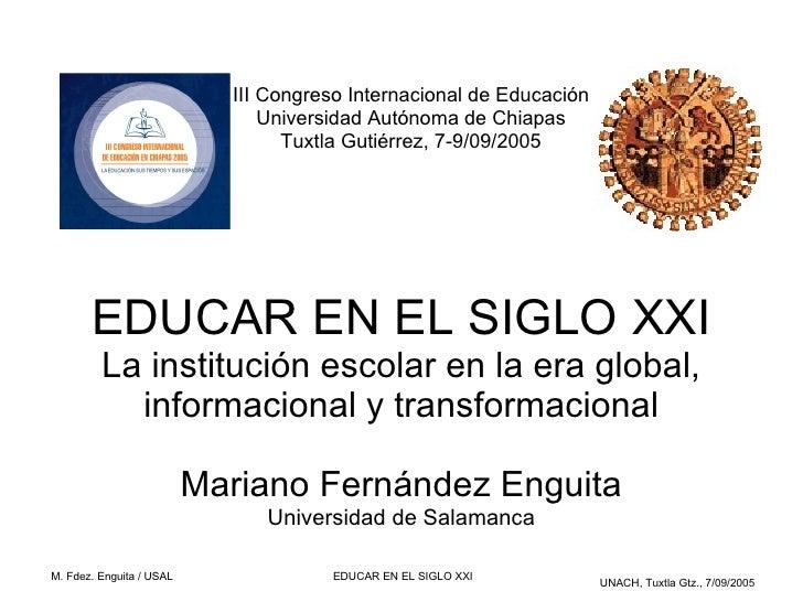 III Congreso Internacional de Educación                                 Universidad Autónoma de Chiapas                   ...