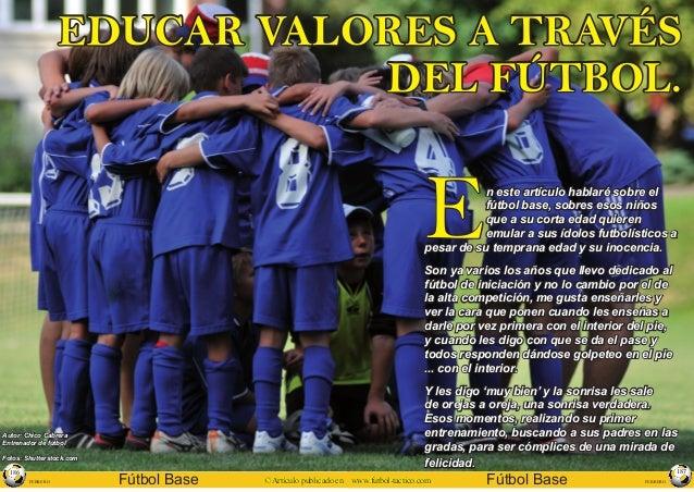 FEBRERO Fútbol Base © Artículo publicado en www.futbol-tactico.com 186 FEBREROFútbol Base© Artículo publicado en www.futbo...