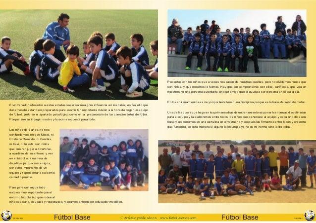 Educar valores a traves del futbol Slide 2