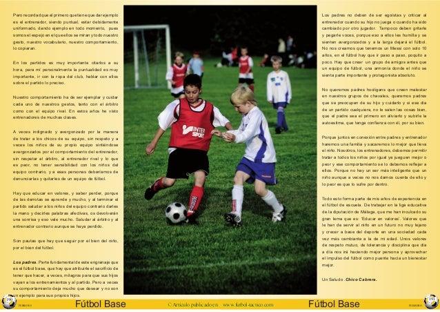 Educar valores a traves del futbol Slide 3