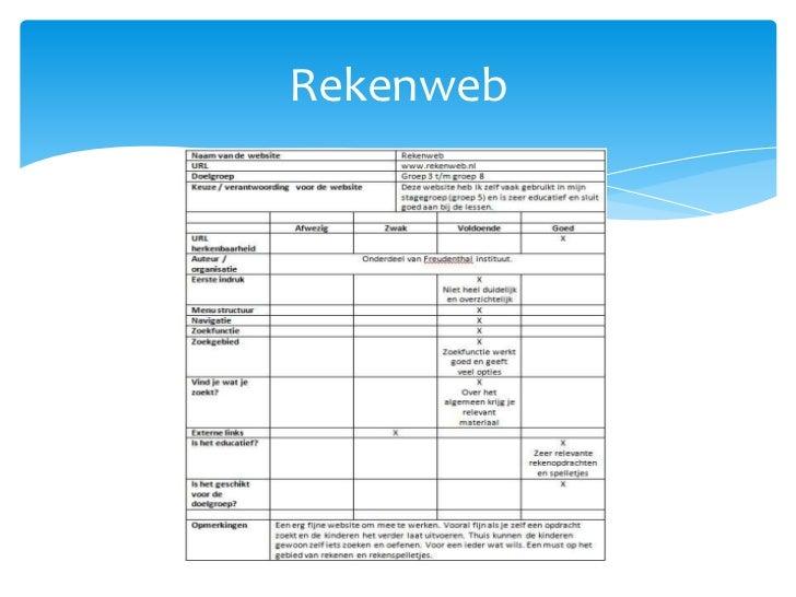 Rekenweb