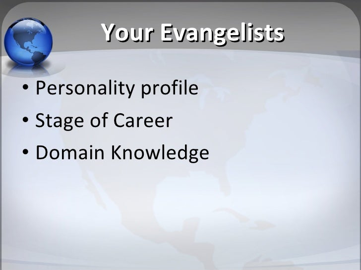 Educating Your Evangalists Slide 3