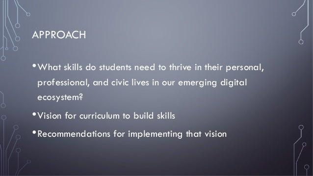 Educating Problem-Solvers for Our Emerging Digital Ecosystem Slide 2