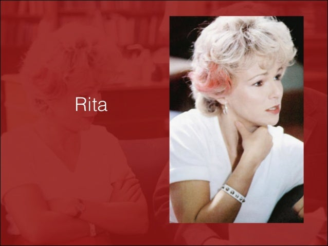 evidence that rita's open university course Though she is frustrated at dexter's inability to open up to her,  in the course of a high-stakes drug case,  after rita's funeral,.