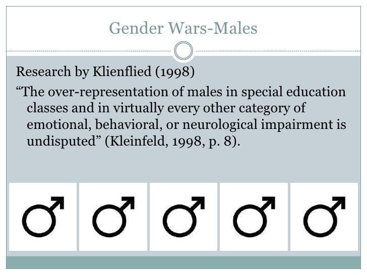 Report on gender inequality in the education less girls than boys in the advancement classes
