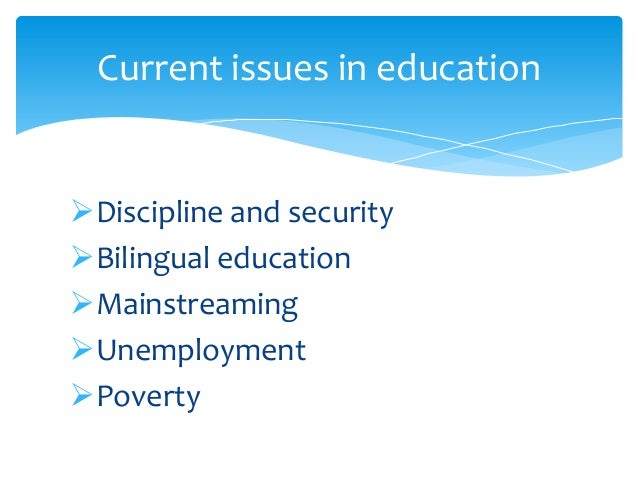 social issues in education Unesco – eolss sample chapters education for sustainability – social and cultural issues in education - t r richardson ©encyclopedia of life support systems (eolss).
