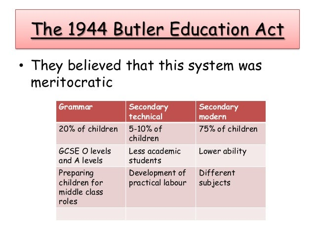 The education act 1870