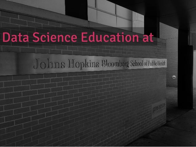 Intro  slide   Data Science Education at