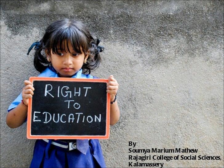 By  Soumya Marium Mathew Rajagiri College of Social Sciences, Kalamassery