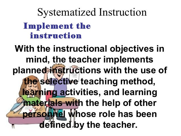 Systematic Approach In Teaching Report In Edtech1