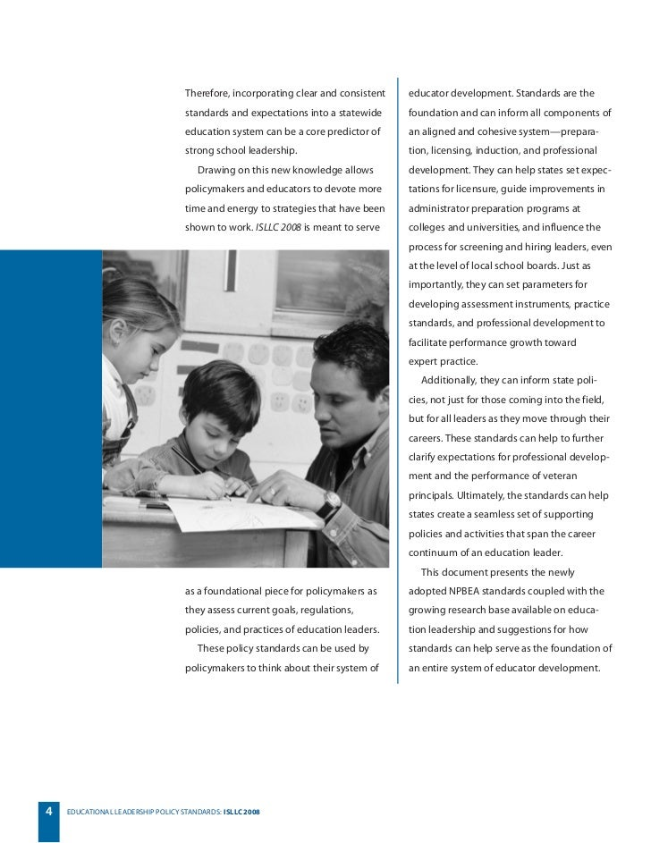 educational leadership and policy pdf
