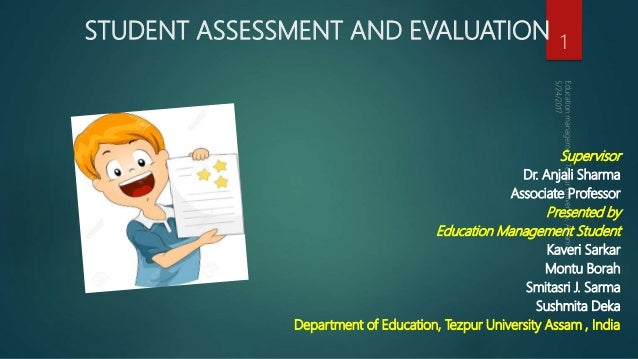 Educational Assessment And Evaluation Measurement, assessment, and evaluation mean very different things, and yet most of my students were unable to adequately explain the differences. educational assessment and evaluation