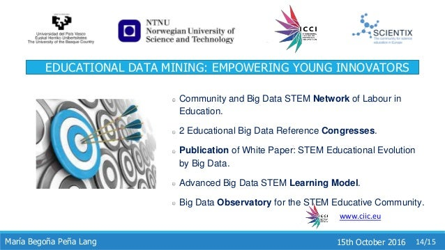 educational data mining thesis Online education in analytics, big data, data science, machine learning http likes 41 penn state: earn ms in data analytics, online data mining, and data science analytics, data mining education: usa/canada analytics, data mining education: europe courses webcasts.