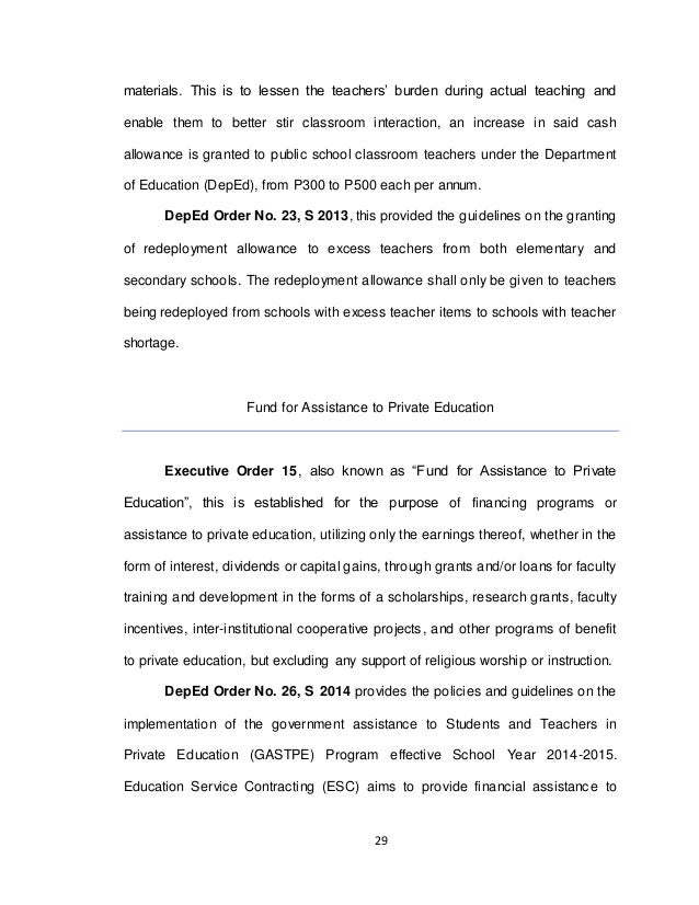 educational issues and trends essay