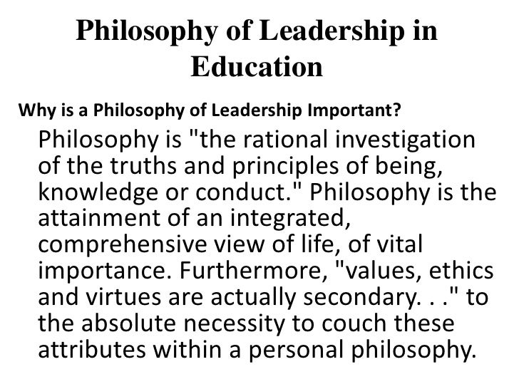 8 Tips for Crafting Your Best Essay on leadership philosophy