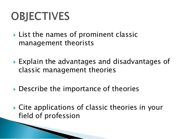 development management thought Evolution of management theory  the development of a true science of management so that the bestmethod for performing each task could be determined 2 the .