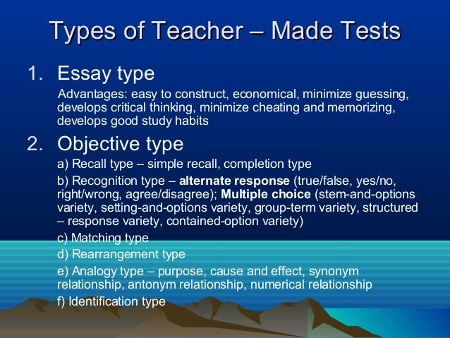 Basic Concepts of Educational Measurement and Assessment Essay