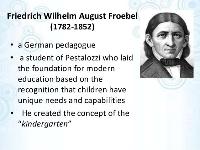 the philosophy of freidrich froebel essay Explore meg santoro's board educational leader-freidrich froebel social learning theory of aggression essay help albert teaching philosophy language.