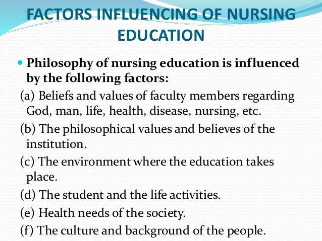 influence of theory on nursing education The history of borrowed theory in nursing and commonly used non-nursing theories to inform nursing practice, education, and research are presented.