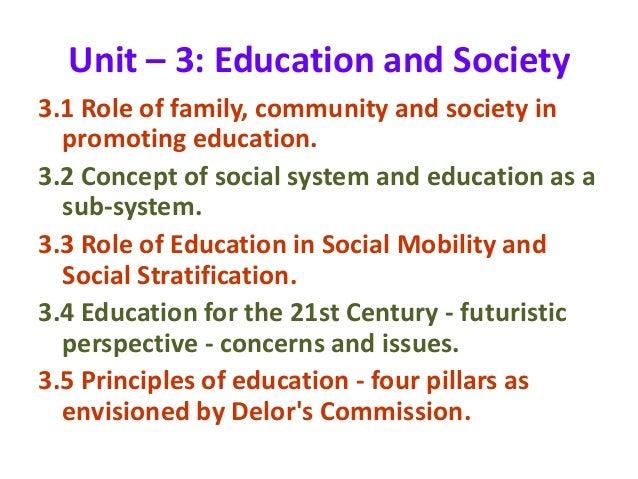 education as a social system