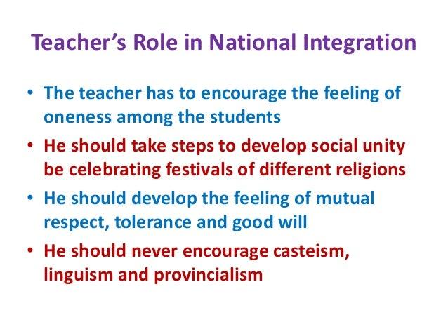 Educational philosophy - Teacher as a Social Worker – Teacher's Role…
