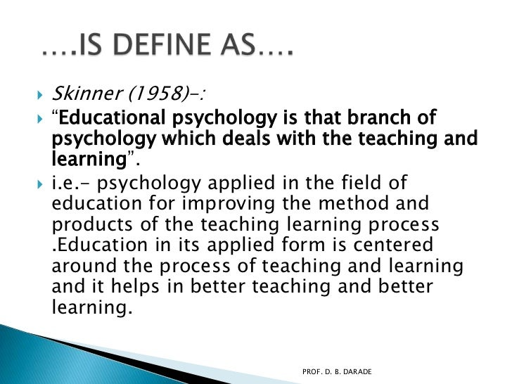 Advanced educational psychology free download
