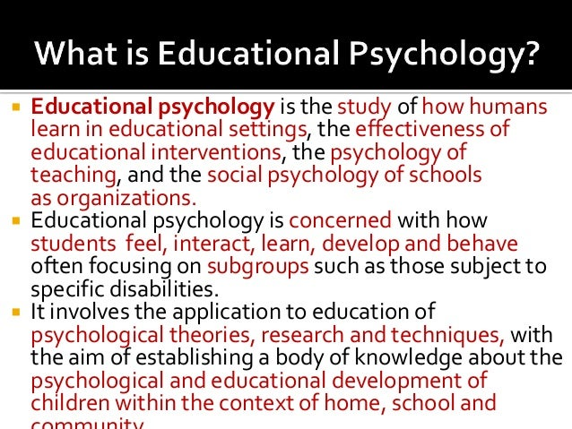 Educational Psychology By Theresa Lowrylehnen Lecturer. College Degree For Life Experience. Best Heating And Air Conditioning. Lower Back Pain Heart Attack. Car Title Loans South Carolina