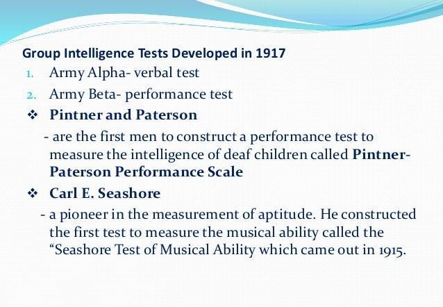 Group Intelligence Tests 14