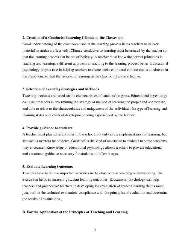 3 types of learning styles psychology
