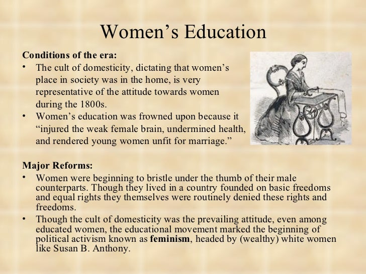 Education In The 1800's Essay Outline - image 2