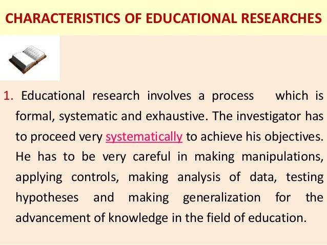 importance of research in education ppt
