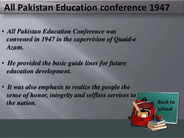 history of education in pakistan essay Essay on the importance of national unity in our history also, we lost east pakistan due to lack of national cm education endowment fund scholarship program.