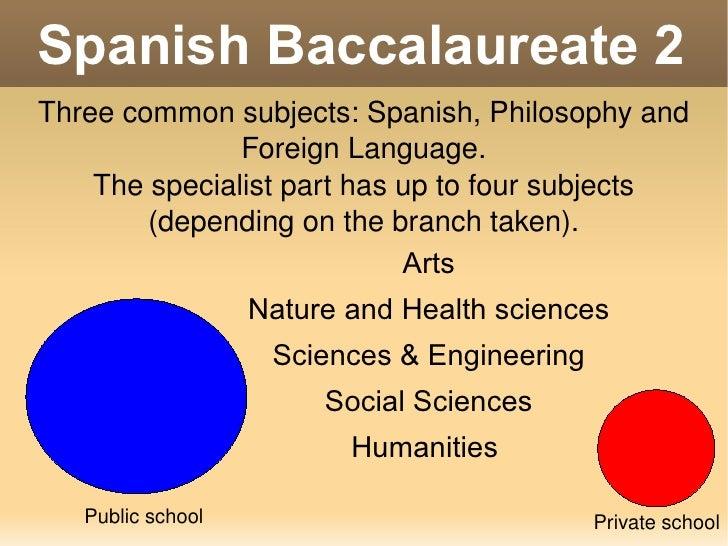 spanish educational system essays