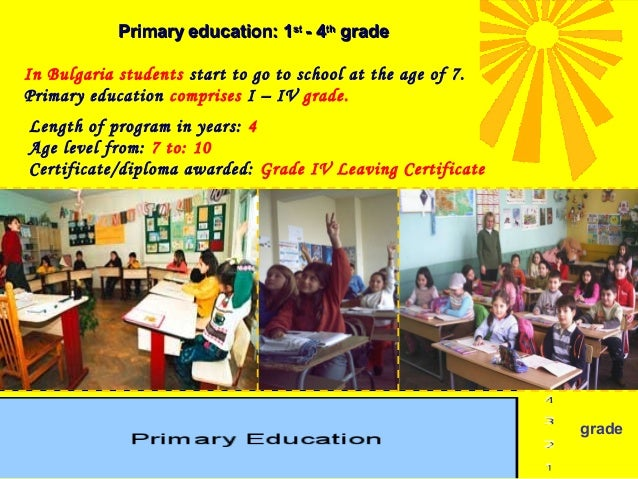 Basic education: 5th-8th grade Basic education comprises V – VIII grade. Length of program in years : 4 Age level from: 10...