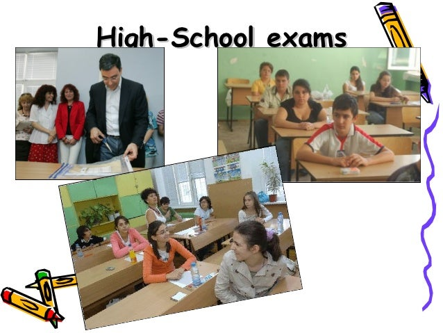 High-School exams
