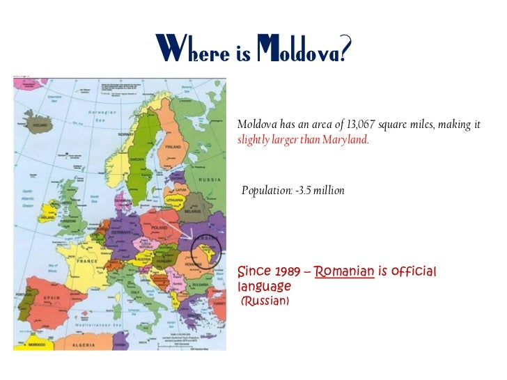 Educational System In Moldova - Where is moldova