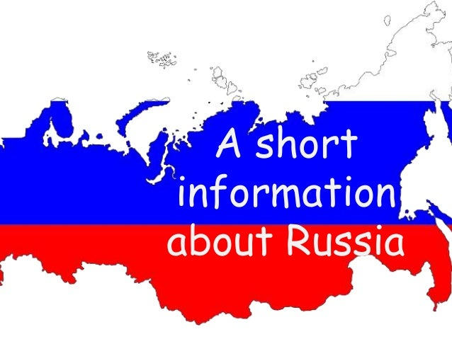 Information About Russian 6