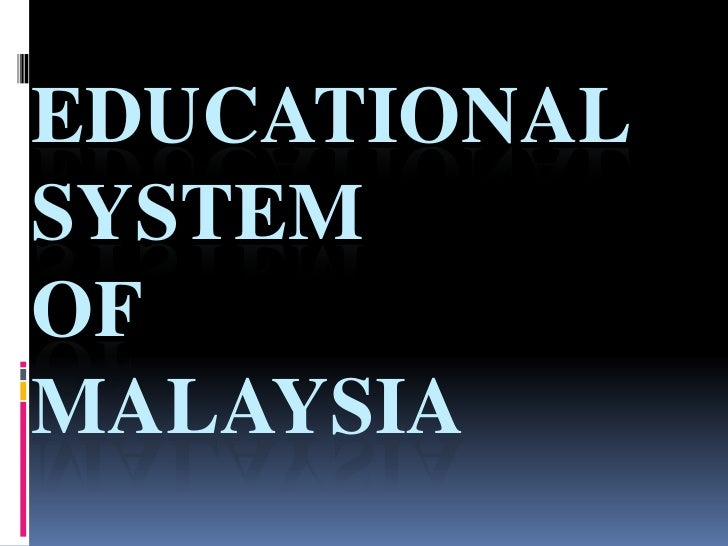 education system in malaysia