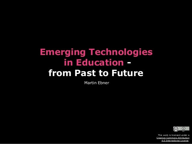 Emerging Technologies