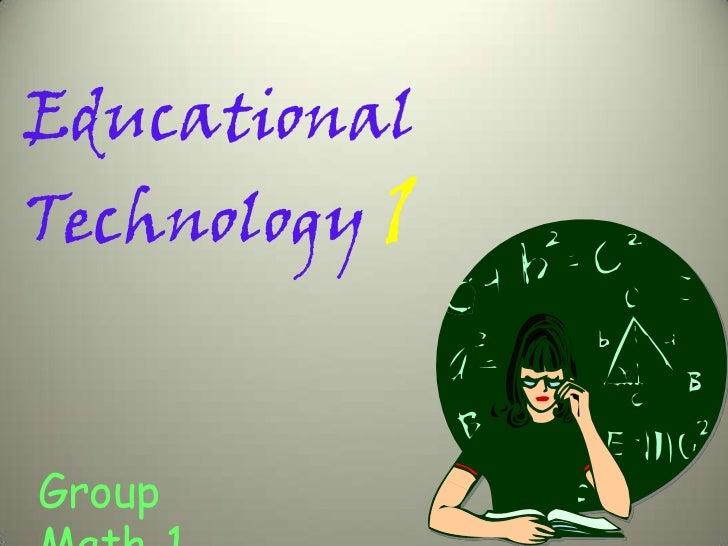 EducationalTechnology 1Group