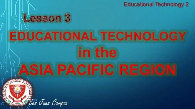 Educational Technology 2 San Juan Campus