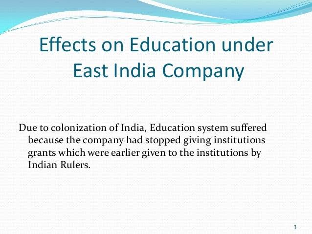 british education in india under british rule