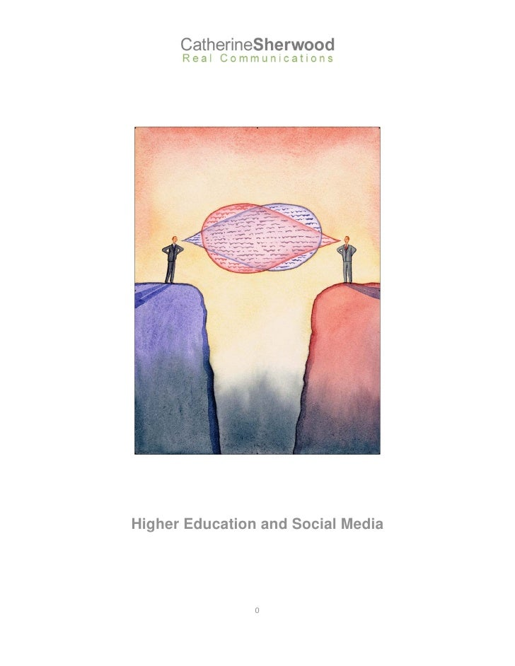 Higher Education and Social Media