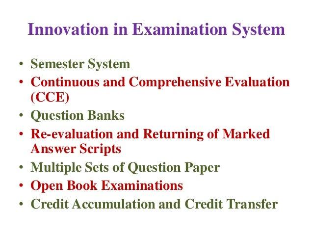 Essay examination system